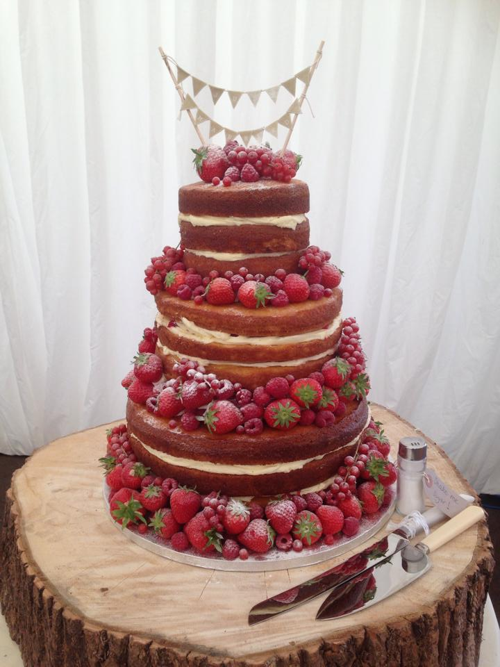 Naked Cake Cambridgeshire