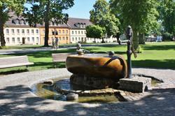 Brunnen im Ort Rheinsberg