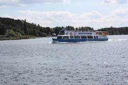 Ausflugsschiff über die Müritz