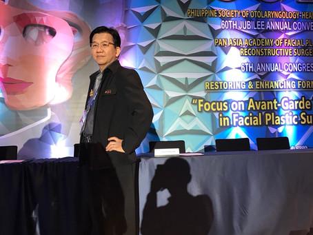 ผศ.นพ.จำรูญ  ตั้งกีรติชัย เข้าร่วมงานประชุมแลกเปลี่ยนความรู้ PAAFPRS ครั้งที่6 ที่ประเทศฟิลิปปินส์