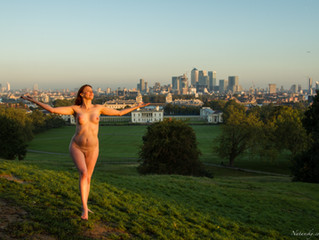 2015 PROJECT NAKED Chapter 12 – October –  Greenwich sunrise
