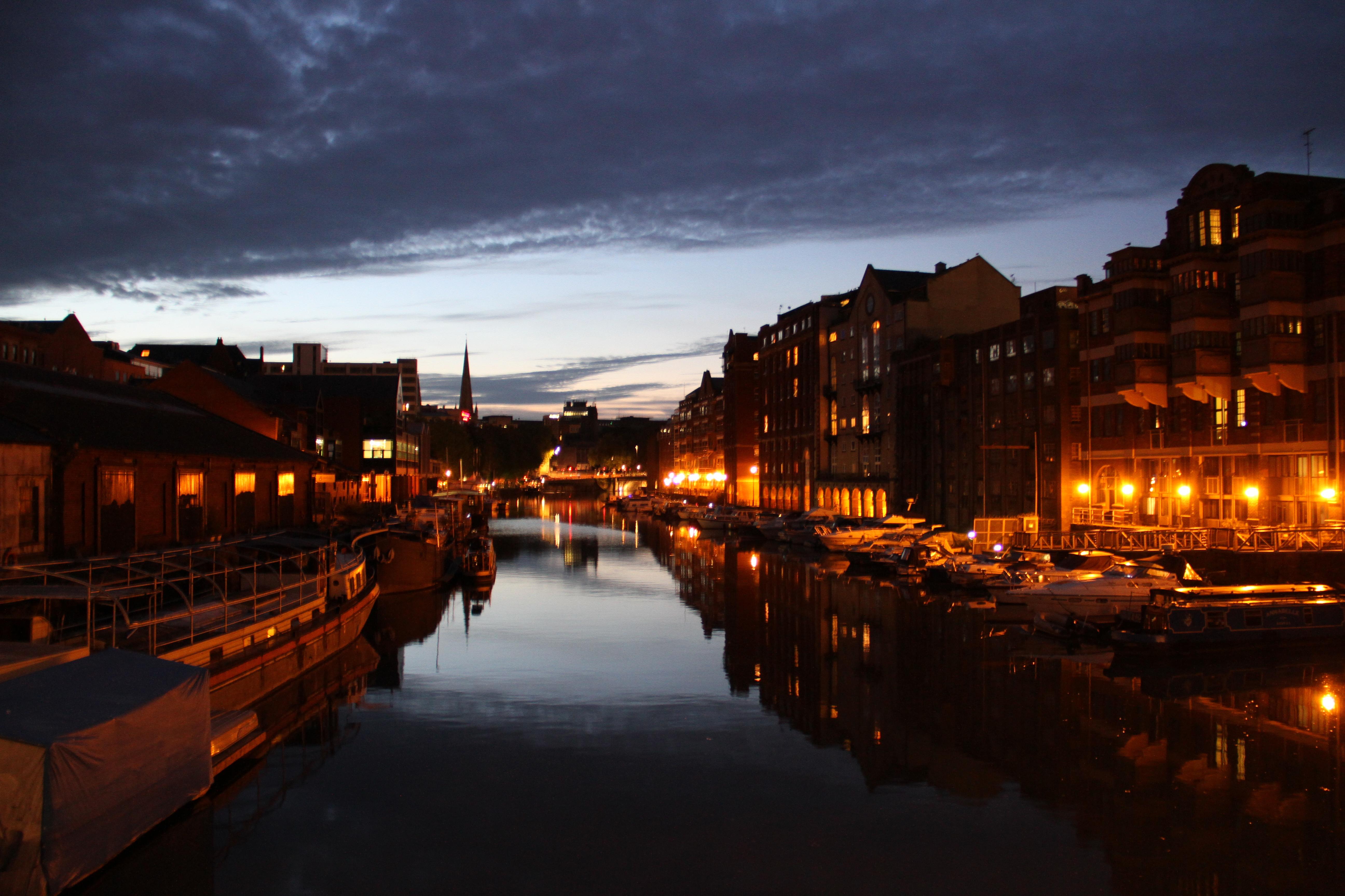 Bristol at twilight