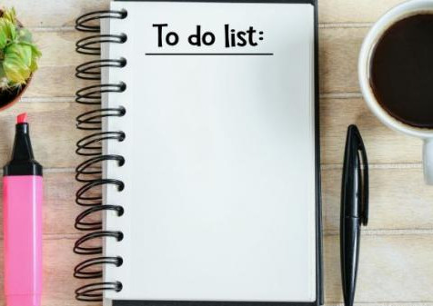 Importance of a to-do list to increase your productivity.