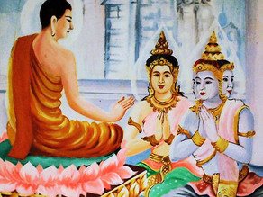 Did Buddha worship any God or did He bow to the Vedas?