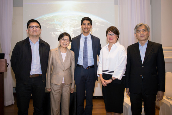 Singapore launch event with Ambassador Chan Heng Chee and Environment Minister Albert Chua