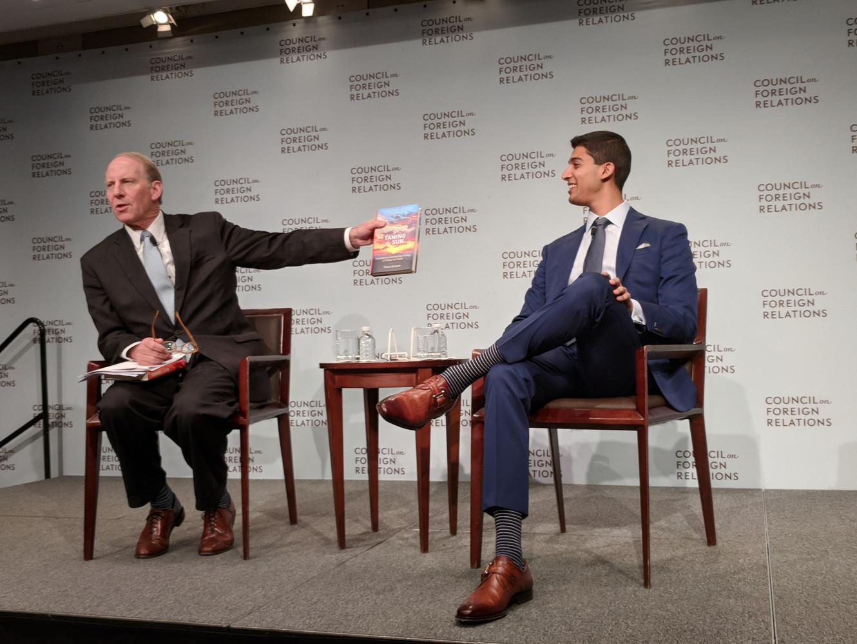 CFR New York launch event with CFR President Richard Haass