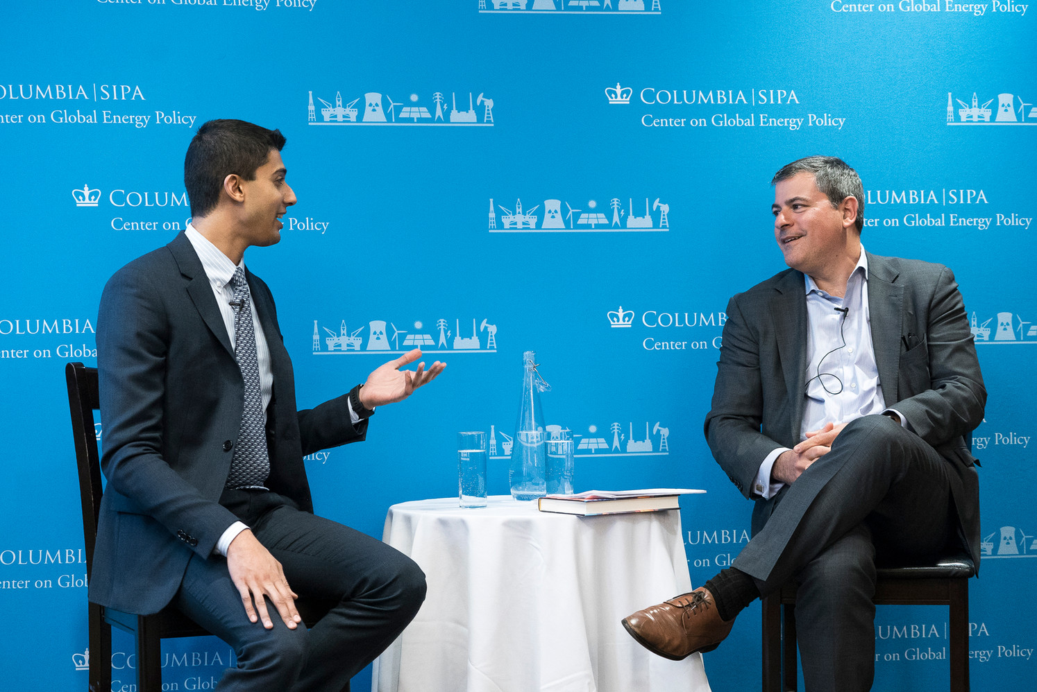 Columbia University launch with Center for Global Energy Policy Founding Director Jason Bordoff