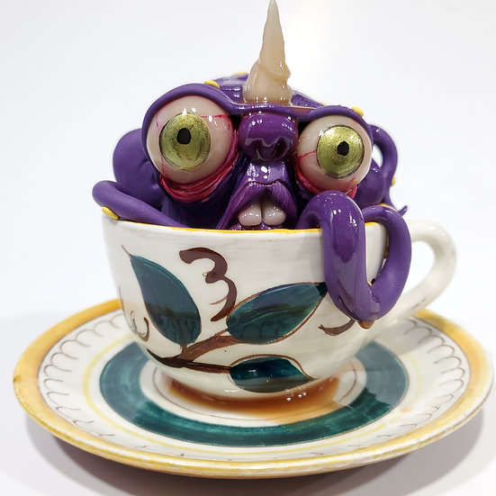 Creature from the black tea
