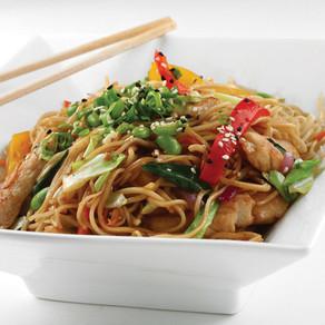 Spicy Chicken Noodle Bowl