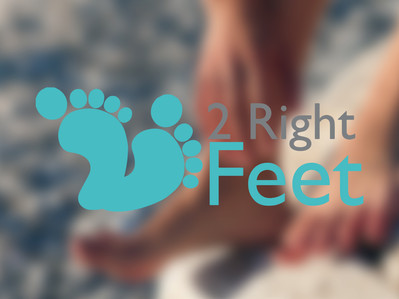 2 Right Feet