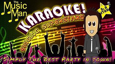 MUSIC MAN KARAOKE SINGING SUPERSTARS