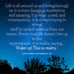 Life is all around us and living through