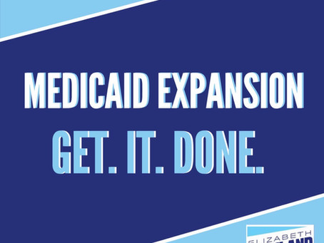State House Candidate Elizabeth Rowland Expresses Support for Medicaid Expansion