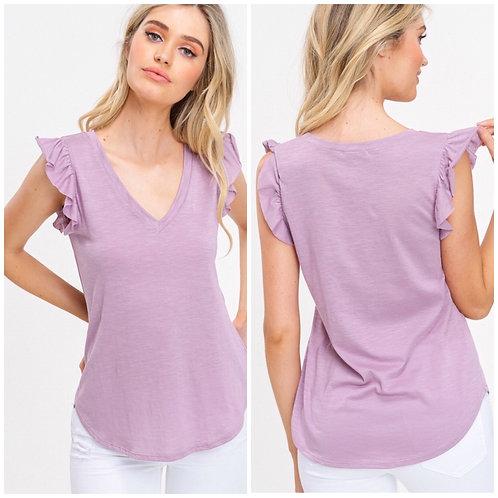 Lavender Ruffle