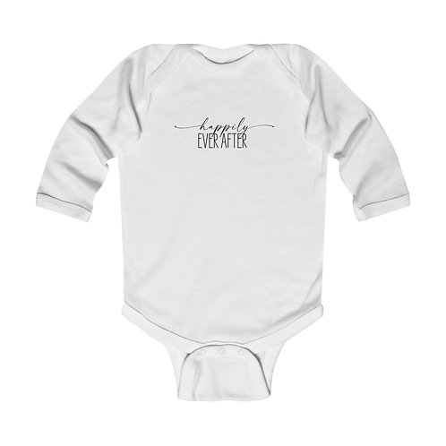 Happily Ever After Infant Long Sleeve Onesie
