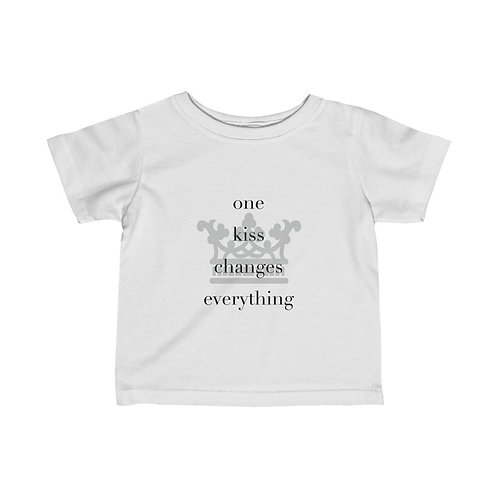 One Kiss | Infant Fine Jersey Tee