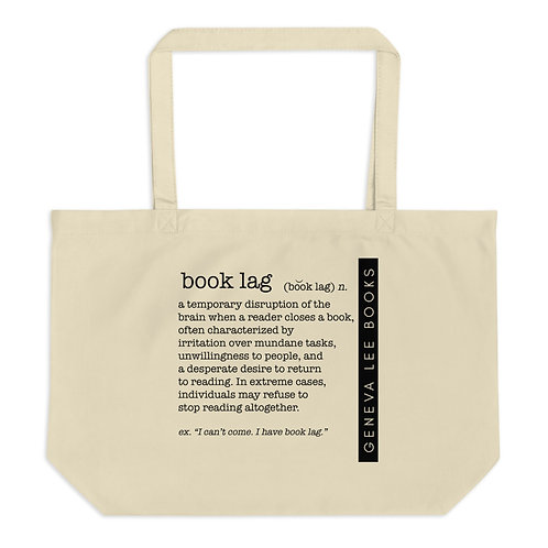 Book Lag Large Organic Tote