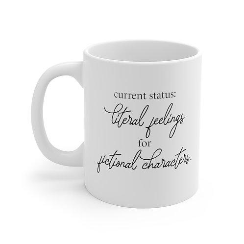 Literal Feelings 11 oz. Mug