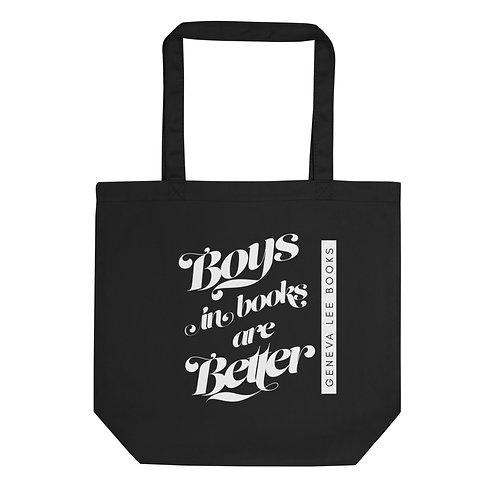 Book Boyfriend Organic Cotton Tote Bag