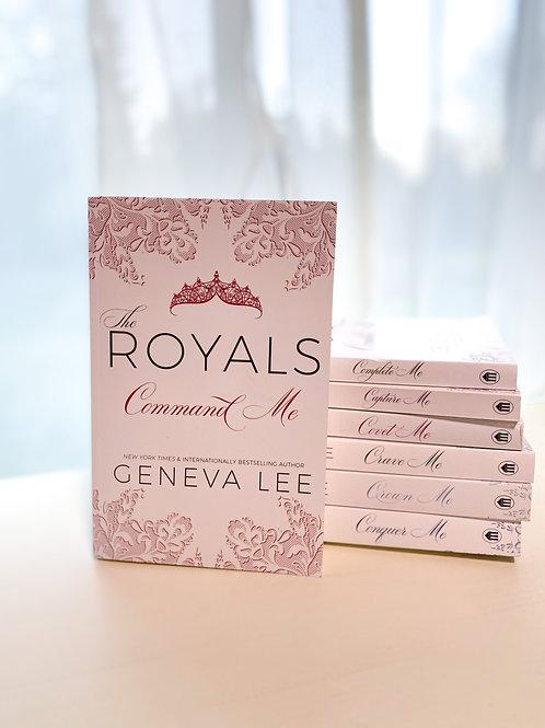 Royals Saga Signed Books