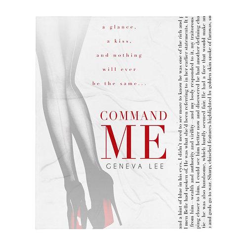 Command Me | Throw Blanket