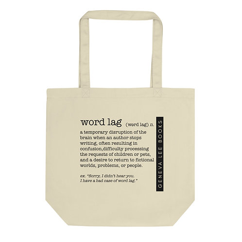 Word Lag Small Organic Cotton Tote