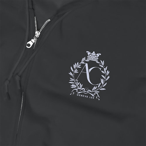 The Royals Embroidered Unisex Zip Up Hoodie