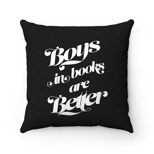 Book Boyfriend Square Pillow