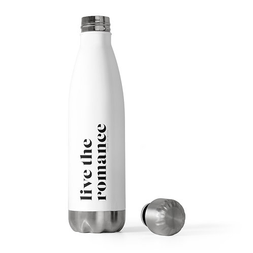 Live The Romance 20oz Insulated Bottle