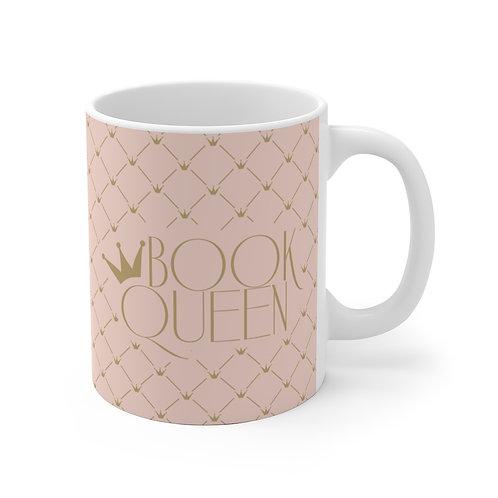 Book Queen Ceramic Mug
