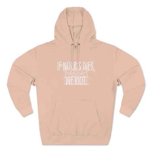 Norris Fan Club Premium Unisex Hoodie (multiple colors)
