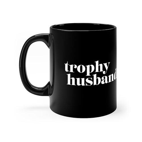 Trophy Husband Black mug 11oz