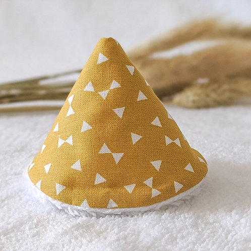 Tipi pipi triangle jaune