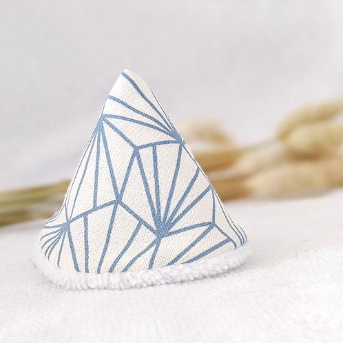 Tipi pipi origami bleu