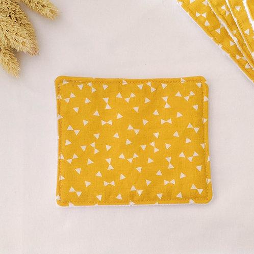 Lingette triangle jaune