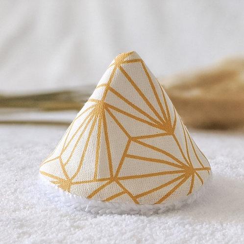 Tipi pipi origami jaune