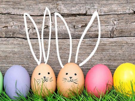 Pâques, une chasse à l'œuf romancée.