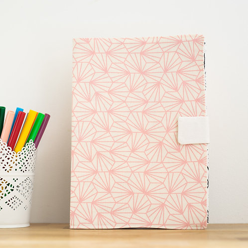 Livre à personnaliser Origami rose