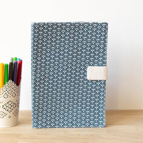 Livre de coloriage écailles bleues