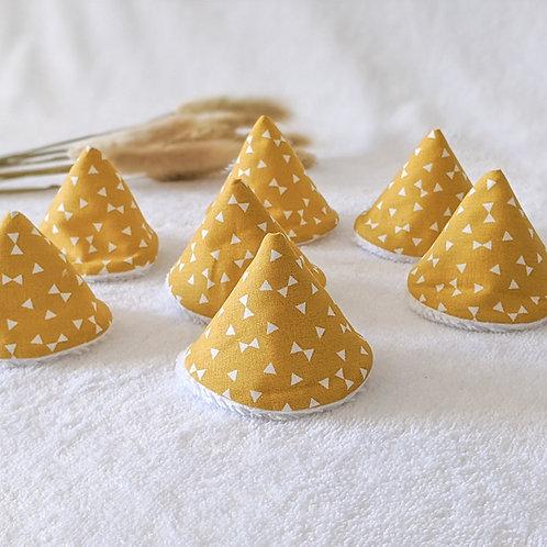 Tipis pipis triangles jaunes
