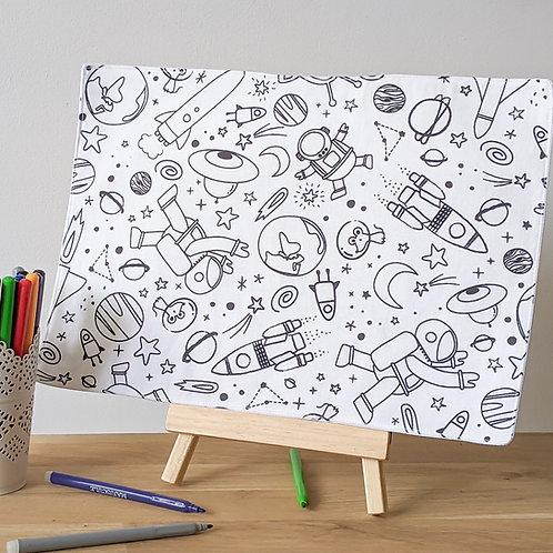 Set à colorier Astronautes