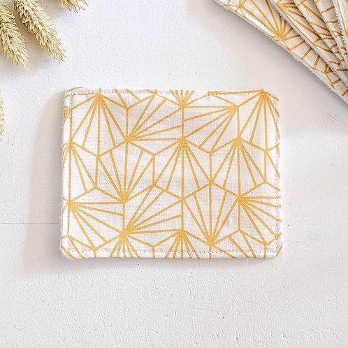 Lingette origami jaune