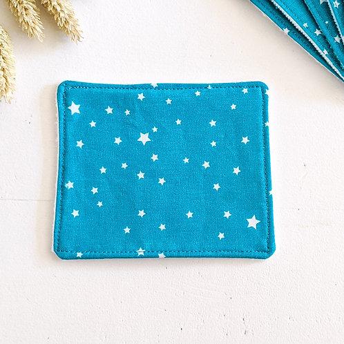 Lingette étoiles bleues