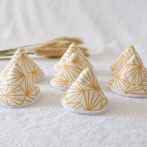 Tipis pipis origami jaune