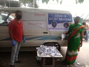 Copy of COVID-19 - HCSC is extending arm of support to needy by distributing meal packs