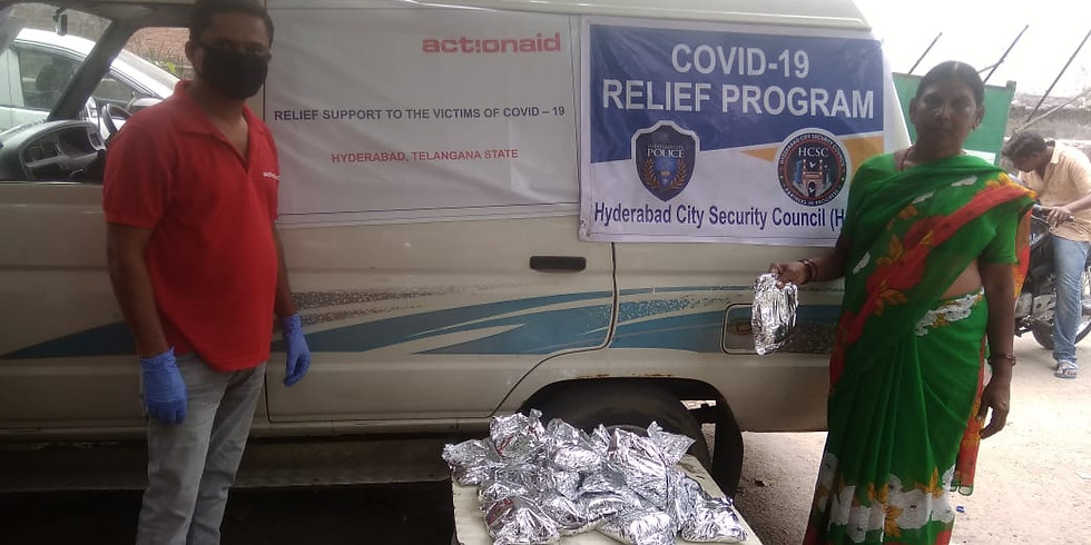 HCSC is extending arm of support to needy by distributing meal packs