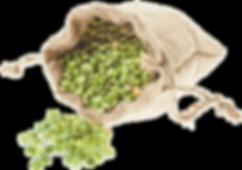 split peas are the primary ingredient in krispeas baked falafel chips