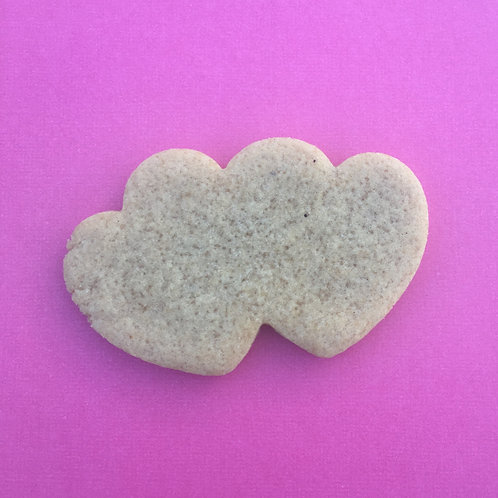 "Custom 3.5"" Double Heart"