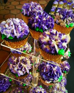 Hydrangea Wedding Cupcakes