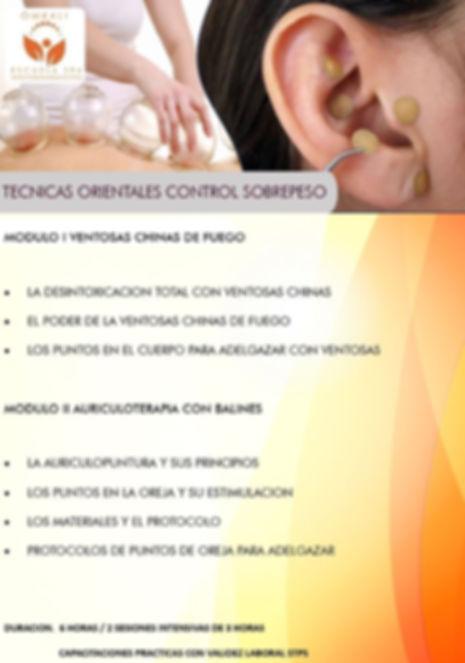 TECNICAS ORIENTALES CONTROL DE SOBREPESO
